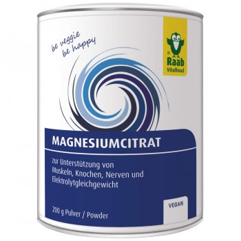 Magnesium Citrate Powder, 200g