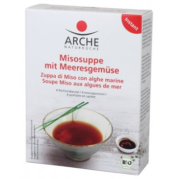 Soup Instant Miso Soup with Seaweed Organic, 4x15g