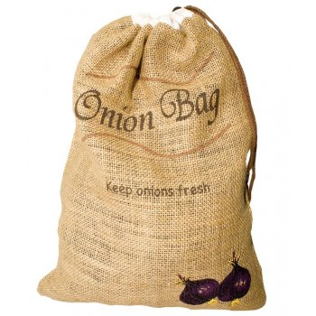 Bag for Onions made from Jute