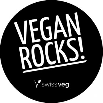 Sticker: Vegan Rocks!