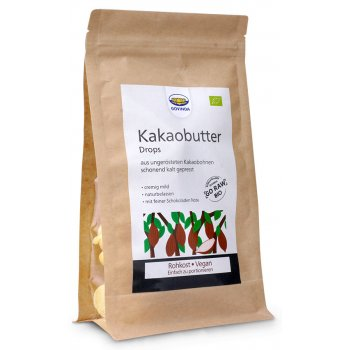 Cacao Butter Drops Raw Food Quality Organic, 200g