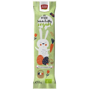 Lolly Easter Bunny Vegan Chocolate Organic, 15g