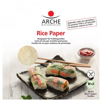 Rice Paper Organic 20-21 papers