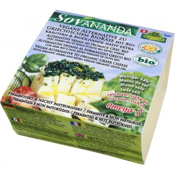 Vegan Alternative to Greek Cheese with Herbs Organic, 200g
