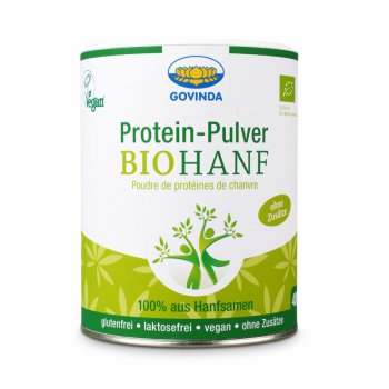 Hemp Protein Powder Raw Food Quality Organic, 400g