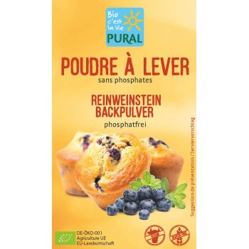 Baking Powder Weinstein Organic, 3x21g