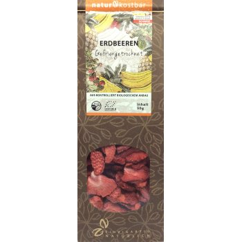 Strawberries Freeze Dried RAW Organic, 50g