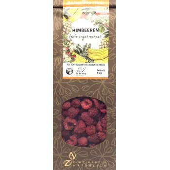 Rasberry Freeze Dried RAW Organic, 50g