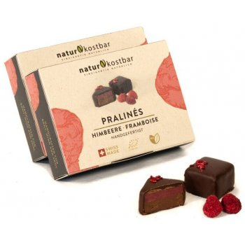 .★ Pralinés Raspberry Organic Box of 6, 88g