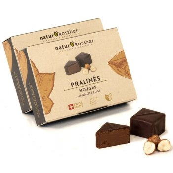 .★ Pralinés Nougat Organic Box of 6, 88g