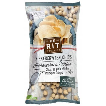 Chips Chickpeas Sea Salt Organic, 75g