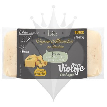 Violife with Cheddar Flavour Block Organic, 200g