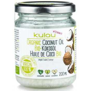 Oil Virgin Coconut Raw Food Quality Organic, 200ml