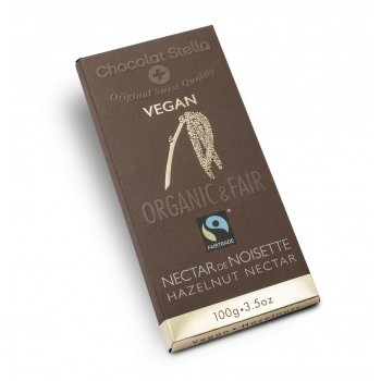 Dark chocolate with hazelnuts and croquant Fair & Organic, 100g