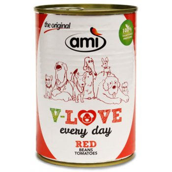 Nassfutter Ami V-Love RED Every Day Vegetarisch / Vegan, 400g