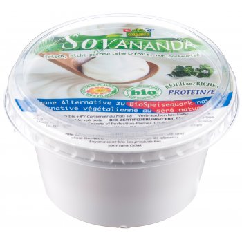 Soy based alternative to Quark / Curd Cheese Organic, 200g