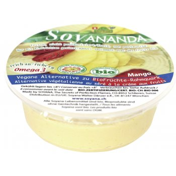 Soy based alternative to Quark / Curd Cheese Mango Organic, 125g