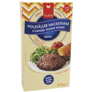Holzfäller Cowgirl Veggie Steaks Organic, 210g