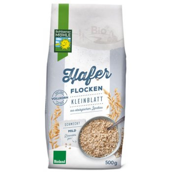 Hafer Flocken fein Bio, 500g