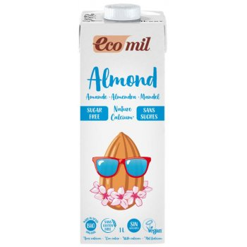 Almond Drink Calcium Without Added Sugar Organic, 1l