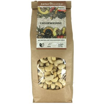 Cashews Raw Food Quality Organic, 500g