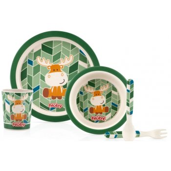 Bamboo Childrens Table Wear Set ELK