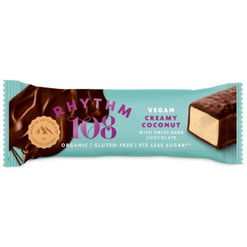 Rhythm 108 Oat & Coconut with Cacao Chocolate Organic, 33g