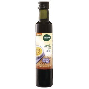 Oil Virgin Linseed Oil Demeter, 250ml