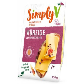 Simply V Alternative to Cheese Slices PIQUANT (HEARTY), 150g