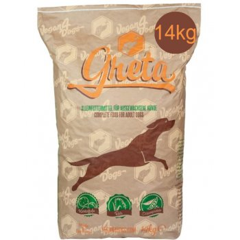 Dog Dry Food Edgar/Greta Vegetarian / Vegan Big Bag, 14kg