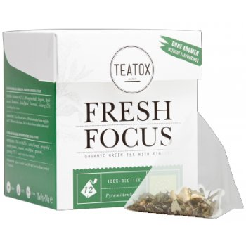 Teatox POWER Fresh Focus Tee Bio, 12 Beutel