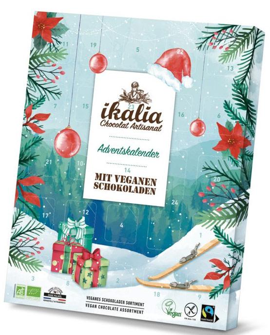 Veganer Weihnachtskalender.Vegan Advent Calendar 2018 Gluten Free Organic 115g