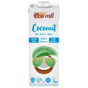 Coconut Milk Drink Calcium Without Added Sugar Organic, 1l