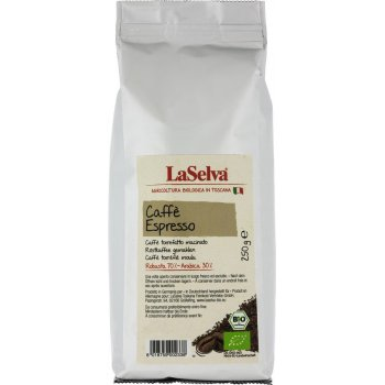 Coffee LaSelva Caffè Espresso Grounded Bio, 250g