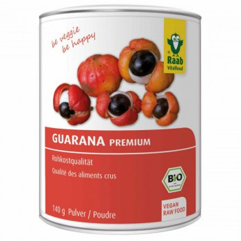 Guarana Premium Raw Food Quality Organic, 140g