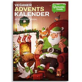 .★ Advent Calendar 2018 Vegan with Chocolate, 150g