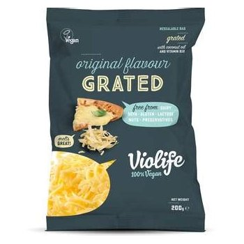 Violife with mild Cheddar Flavour Grated, 200g