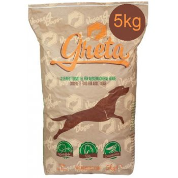 Dog Dry Food Greta Vegetarian / Vegan Large Croquettes, 5kg