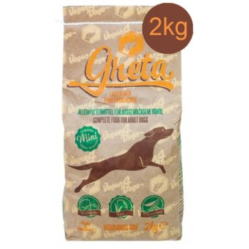 Dog Dry Food Greta MINI Vegetarian / Vegan Small Croquettes, 2kg