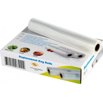Vacuum Sealer Replacement Bag Rolls 22cm, 4 Rolls