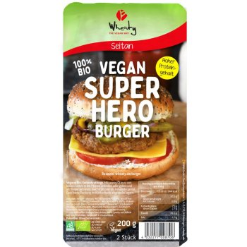 Burger Vegan Superhero Bio, 2 x 100g