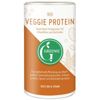 Veggie Protein Powder Raw Food Quality Organic, 150g