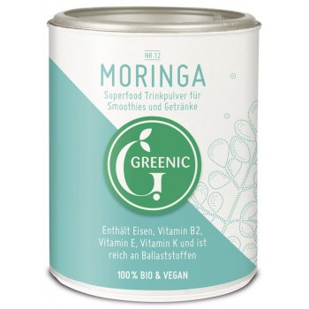 Moringa Powder Raw Food Quality Organic, 100g