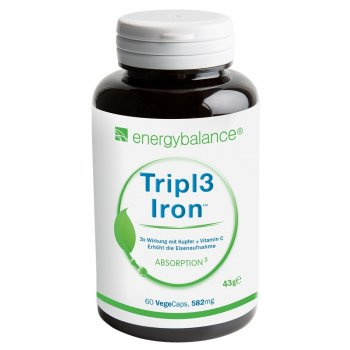 Eisen Tripl3 Iron 582mg, 60 VegeCaps