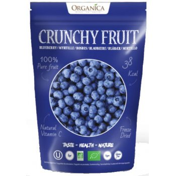 Crunchy Fruity Blueberry Freeze Dried RAW Organic, 16g