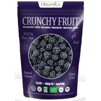 Crunchy Fruity Blackberry Freeze Dried RAW Organic, 16g