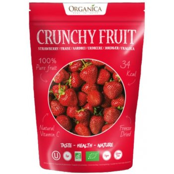 Crunchy Fruity Strawberry Freeze Dried RAW Organic, 12g