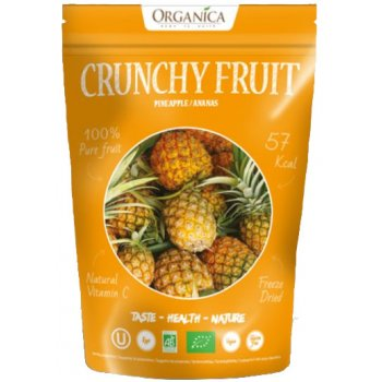 Crunchy Fruity Pineapple Freeze Dried RAW Organic, 16g