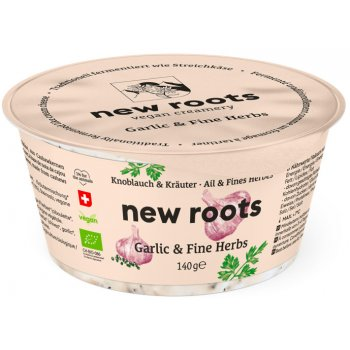 New Roots Ail & Fines Herbes Extra Creamy Bio, 140g
