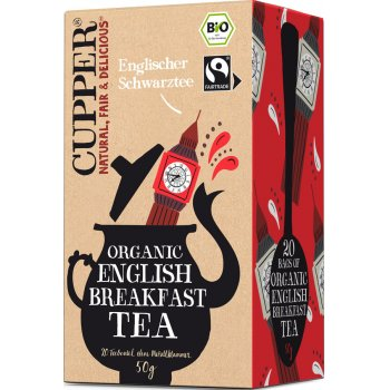 Tee English Breakfast Tea Fairtrade Bio, 20 Teebeutel